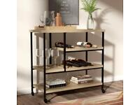 Kitchen Trolley / Island with manufactured wood top