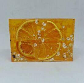 Orange scented soap bar by Heaven senses