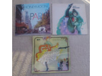 France/ Paris-themed vinyls x 3 - great for decoration