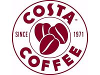 Recuit staff for fulltime and part time job on Costa Coffee