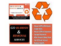 Go rubbish and Removal services - no need for Skip. Junk clearance, van driver, deep clean
