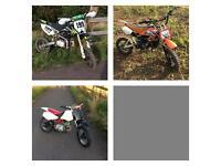 Pit bike Pitbike Honda crf xr 70 Xsport stomp