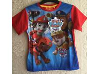 Nickelodeon Paw Patrol Top age 6 Brand New with tags