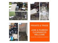House clearance-Rubbish junk waste removal bin empty skip alternative