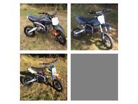 Pit Bike Pitbike Lifan Demon x Stomp
