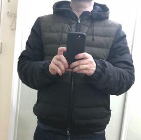 Zegna designer hooded jacket - small