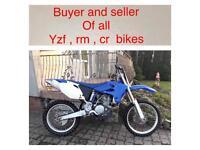 💷💷 Yamaha yz cr rm 450 needs engine