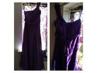 Purple occasion dresses