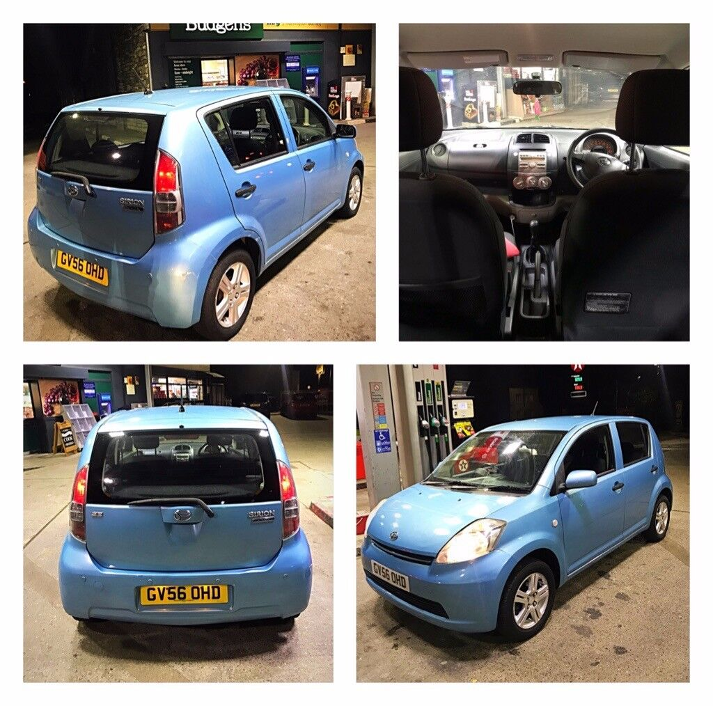 10 55k Japanese Daihatsu Sirion Se Mot Till March 2019 Excellent Mini Cooper Fuse Box Clicking Car
