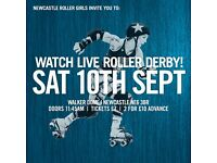 Watch live roller derby!