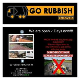 GO RUBBISH REMOVALS Glasgow-Paisley-Waste-trade-junk-house clearance-no skip required