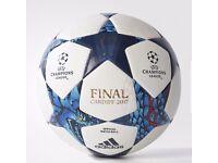 Champions league final official matchball Cardiff