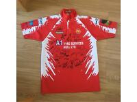 Hull KR signed rugby shirt