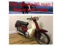 1985. Honda cub 90 17000 miles for new full log book
