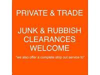 Rubbish junk waste removal bin empty skip alternative