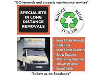 House & office Removals / single items / junk rubbish clearance- no need for skip/ end tenancy Clean