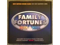New Edition 'Family Fortunes' Board Game (new)