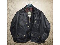 BARBOUR International Beacon Trials Wax Motorcycle Jacket 50 XXXL XXL Rare VINTAGE