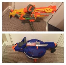 Job lot of 14 Nerf guns