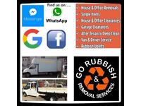 Go rubbish and removal services / junk & waste collection no skip required/ house office removals