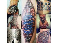Black Widow Tattoo Ink