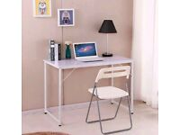 White study desk for sale in Leighton Buzzard