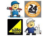 24 HOUR EMERGENCY PLUMBER GAS ENGINEER leaks, repairs, boiler breakdown,central heating FREE QUOTES