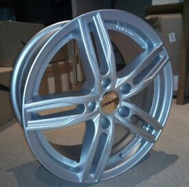 "New 17"" Alloy Wheels BMW Stud Pattern"