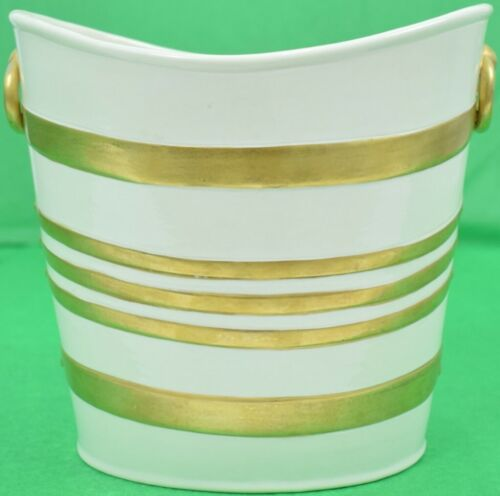French Paste Porcelain Hat Box 19th C Bucket