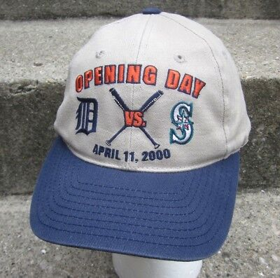 1d4a80e6e86 DETROIT TIGERS baseball cap 2000 opening day Comerica Park hat MLB
