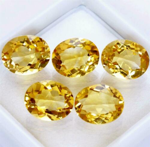Wholesale Lot of 11x9mm Oval Facet Natural Citrine Loose Calibrated Gemstone