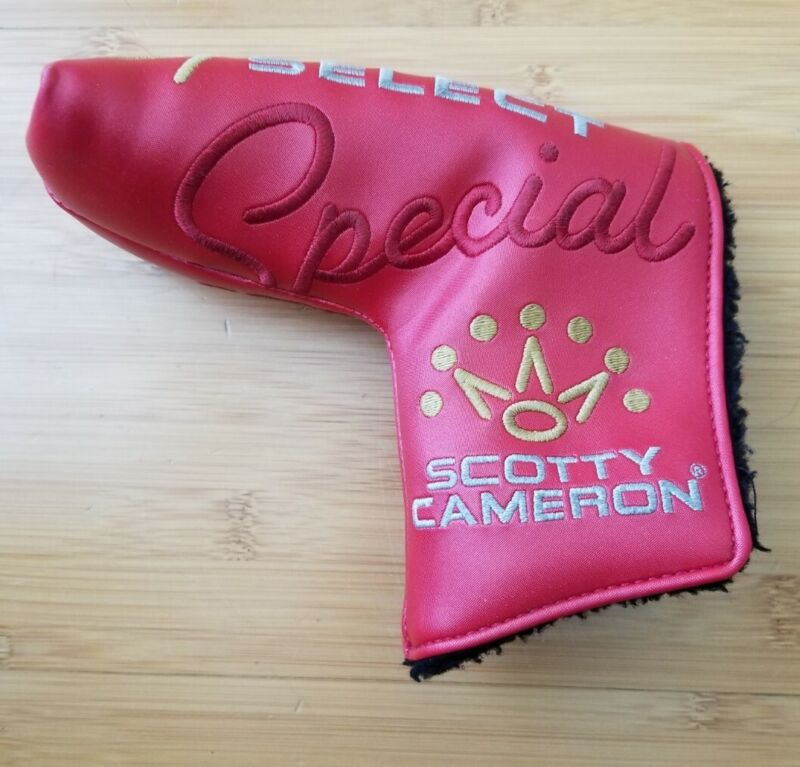 Flawless Scotty Cameron Special Select Blade Putter Cover Headcover