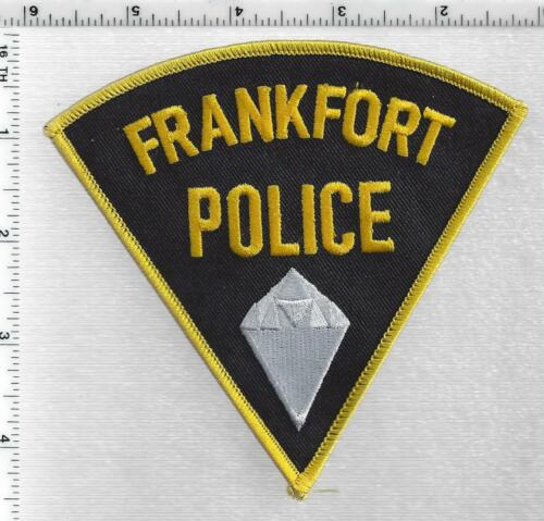 Frankfort Police (Indiana) 3rd Issue Shoulder Patch