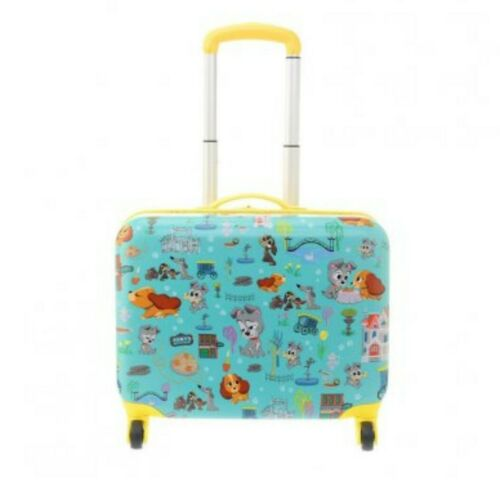 Disney NWT Lady and the Tramp Furrytale Friends Rolling Luggage Suitcase NEW
