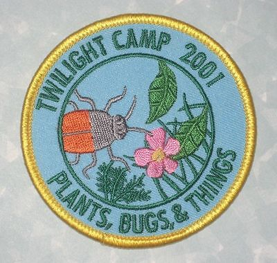 Twilight Camp 2001 Patch - Plants, Bugs, & Things - 3