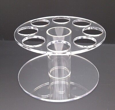 ICE CREAM CONE HOLDER DISPLAY STAND CARRIER 5MM HIGH QUALITY ACRYLIC ROUND