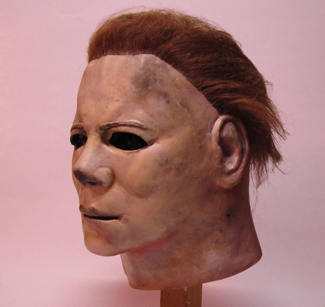 Deluxe Michael Myers Official Halloween 2 Adult Latex Full Head ...