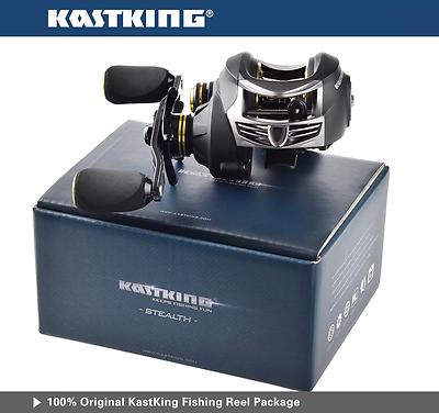 KastKing Stealth 7.0:1 All Carbon Baitcast Low Profile 6 oz