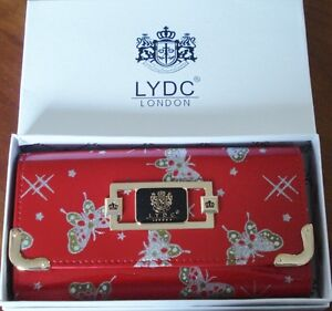 LYDC London Butterfly Clutch/Purse with Gift Box