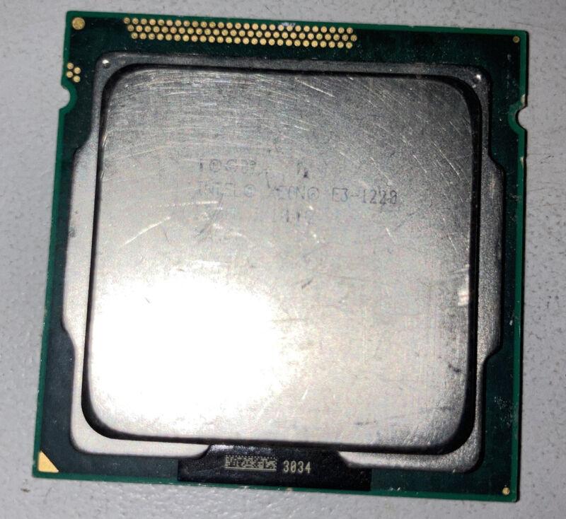 Intel Xeon E3-1220 SR00F 3.1GHz Quad Core LGA 1155 CPU Processor