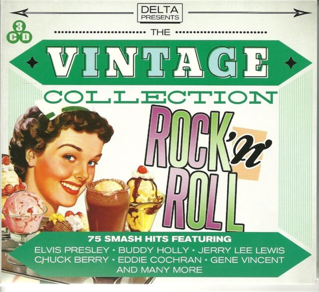 THE VINTAGE COLLECTION ROCK 'N' ROLL 3 CD BOX SET CHUCK BERRY BUDDY HOLLY & MORE