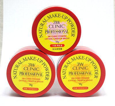 3W Clinic  Dodo Palgantong Natural Makeup Powder Crystal Creator Bright  30G