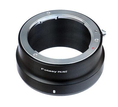 Pentax Pk Mount - Pentax PK Lens to Nikon Z Mount Z6 Z7 Mirrorless Camera Adapter
