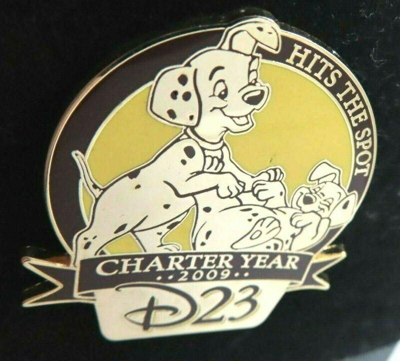 Disney Pin D23 Membership Exclusive Charter Year 101 Dalmatians AS IS #72209