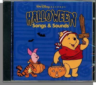 Kids Halloween Songs Cd (Halloween Songs & Sounds - New 1997 Disney Children's Halloween)