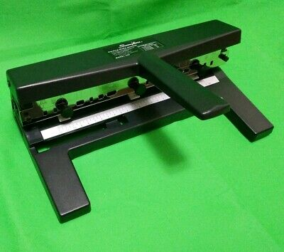Swingline Hole Punch Heavy Duty Hole Puncher Adjustable 2-7 Holes 40 Sheet P