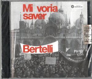 GUALTIERO-BERTELLI-MI-VORIA-SAVER-CD-NUOVO-SIGILLATO-I-DISCHI-DEL-SOLE