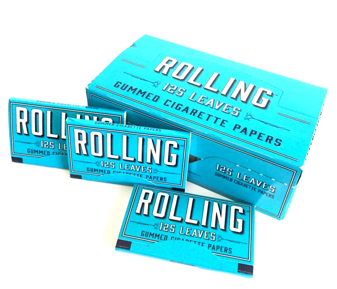 Rolling papers Gummed 24 Packs Box Booklets RYO Tobacco USA New Wholesale
