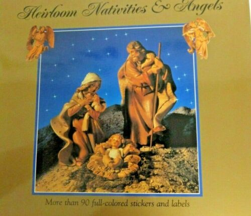 Fontanini Heirloom Nativities & Angels Stickers for Crafts, Journals, Cards