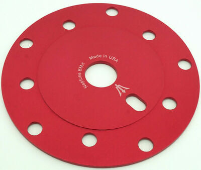 Neptune BMX Old school power disc 110mm/130mm bcd Made in USA! RED